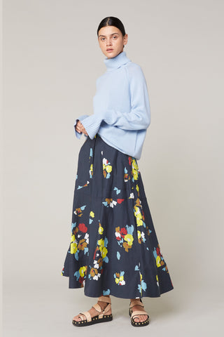 Dolores Floral Circle Skirt