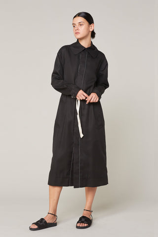 Jackie Drawcord Trench