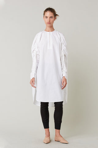 Lee Mathews | Tiggy Cotton Tunic in Natural
