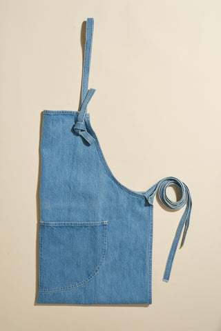 Violet Denim Apron
