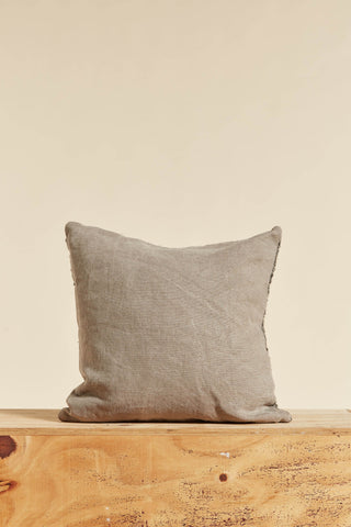 Belgian Linen & Wool Square Cushion Small
