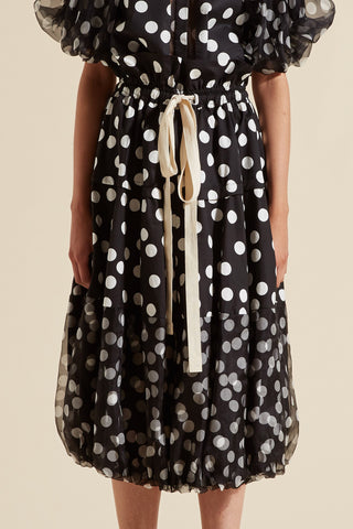 Cherry Spot Balloon Skirt