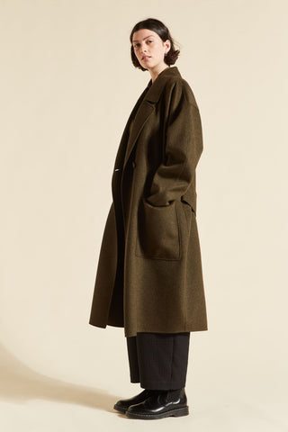 Tomiko Cashmere Cocoon Coat