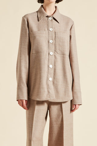 Jesse Wool Shirt Jacket