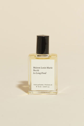 Maison Louis Marie Perfume Oil - No. 2 'Le Long Fond'