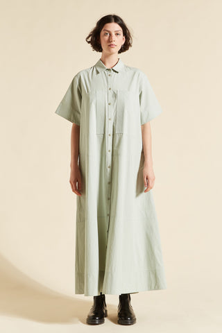Kei Short Sleeve Shirtdress