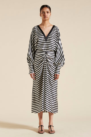 Nicolas Stripe Dress