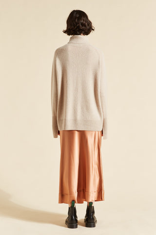 Cashmere Turtleneck Long Sleeve Knit