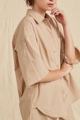 LM Poplin Short Sleeve Shirt