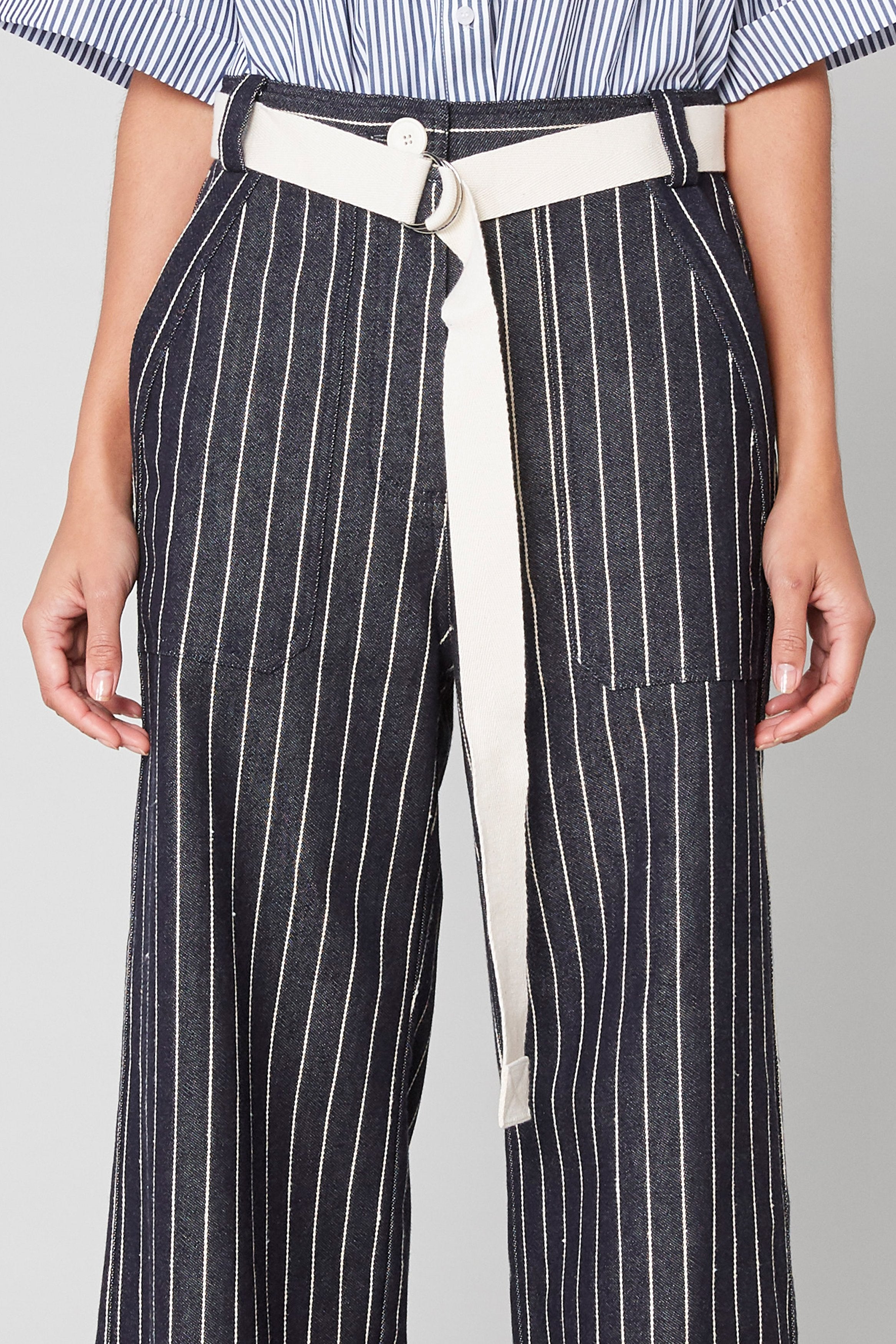 Stripe Denim Pant