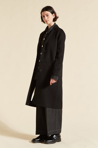 Tomiko Cashmere Tailored Coat