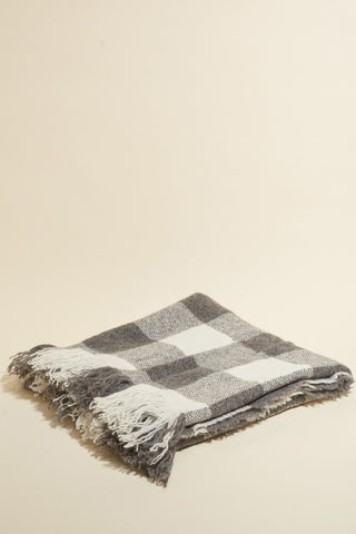 Stansborough Woven Brushed Wool Throw