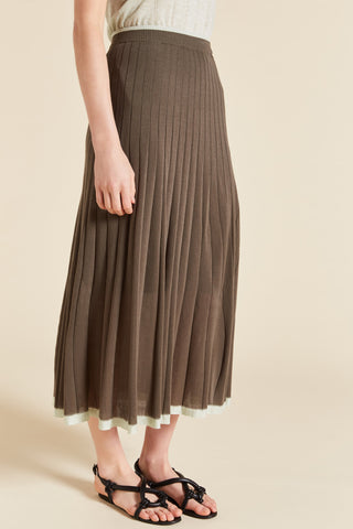 Tencel Rib Skirt