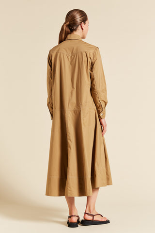 Ava Long Sleeve Shirtdress