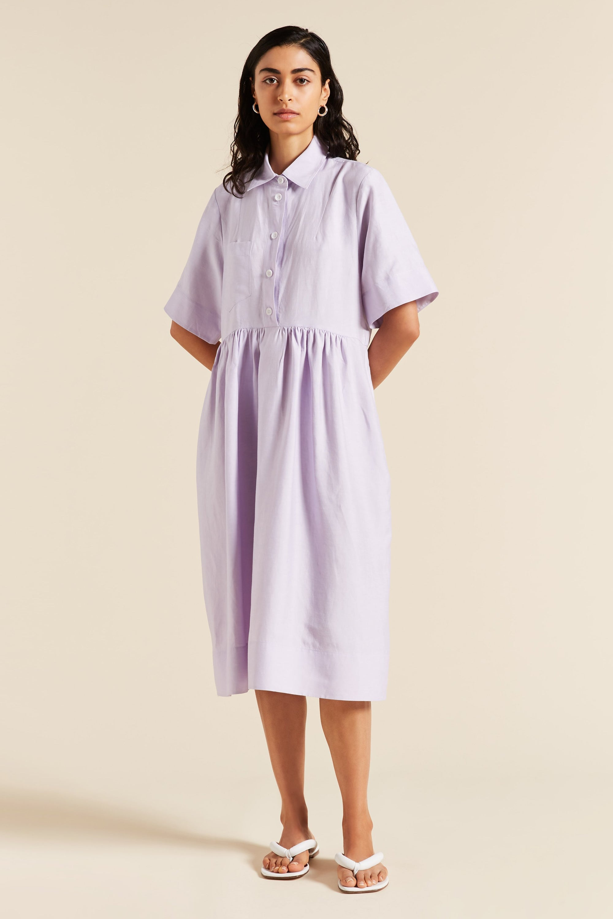 Sparrow Tulip Shirtdress