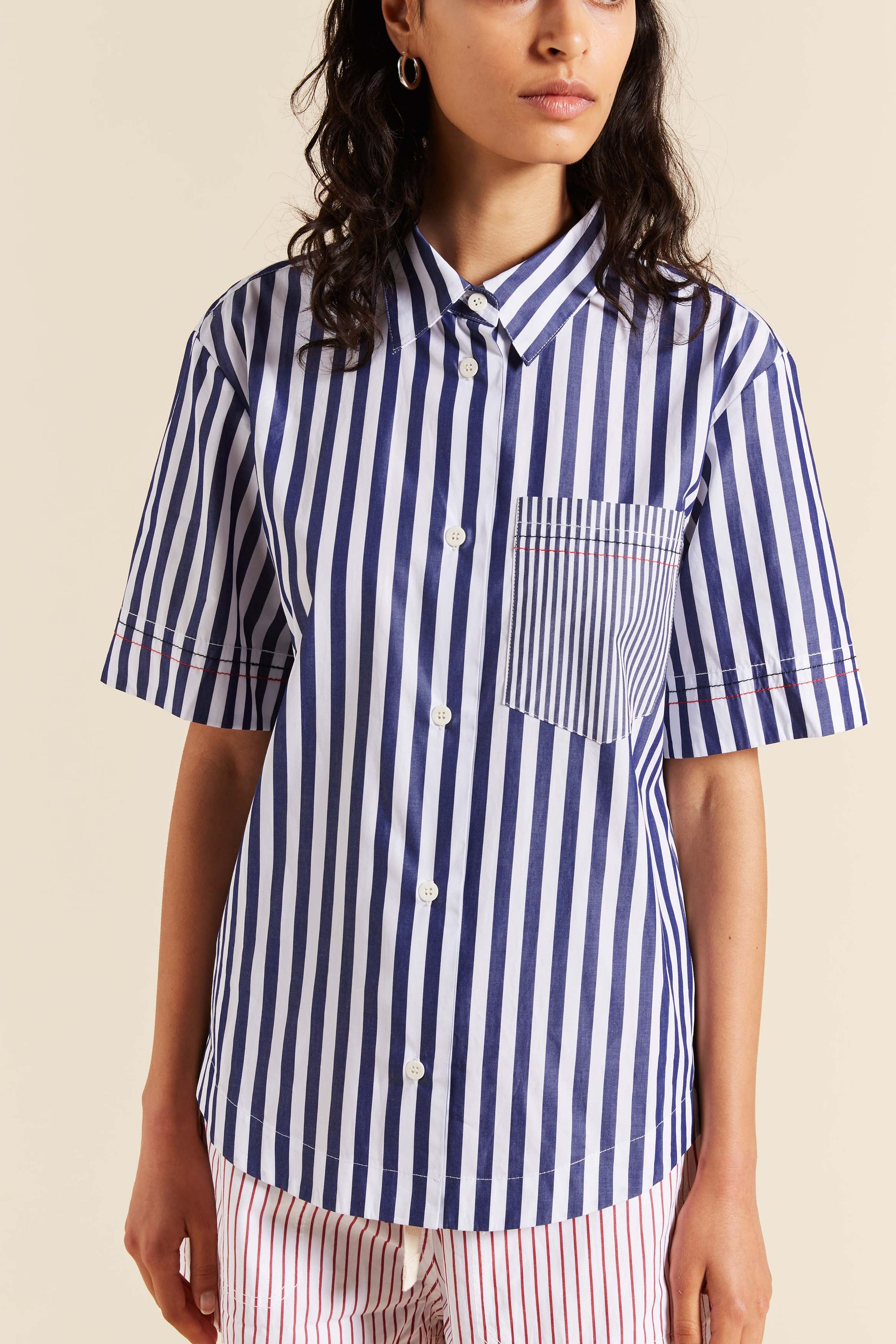 Whistler Stripe Short Sleeve Shirt