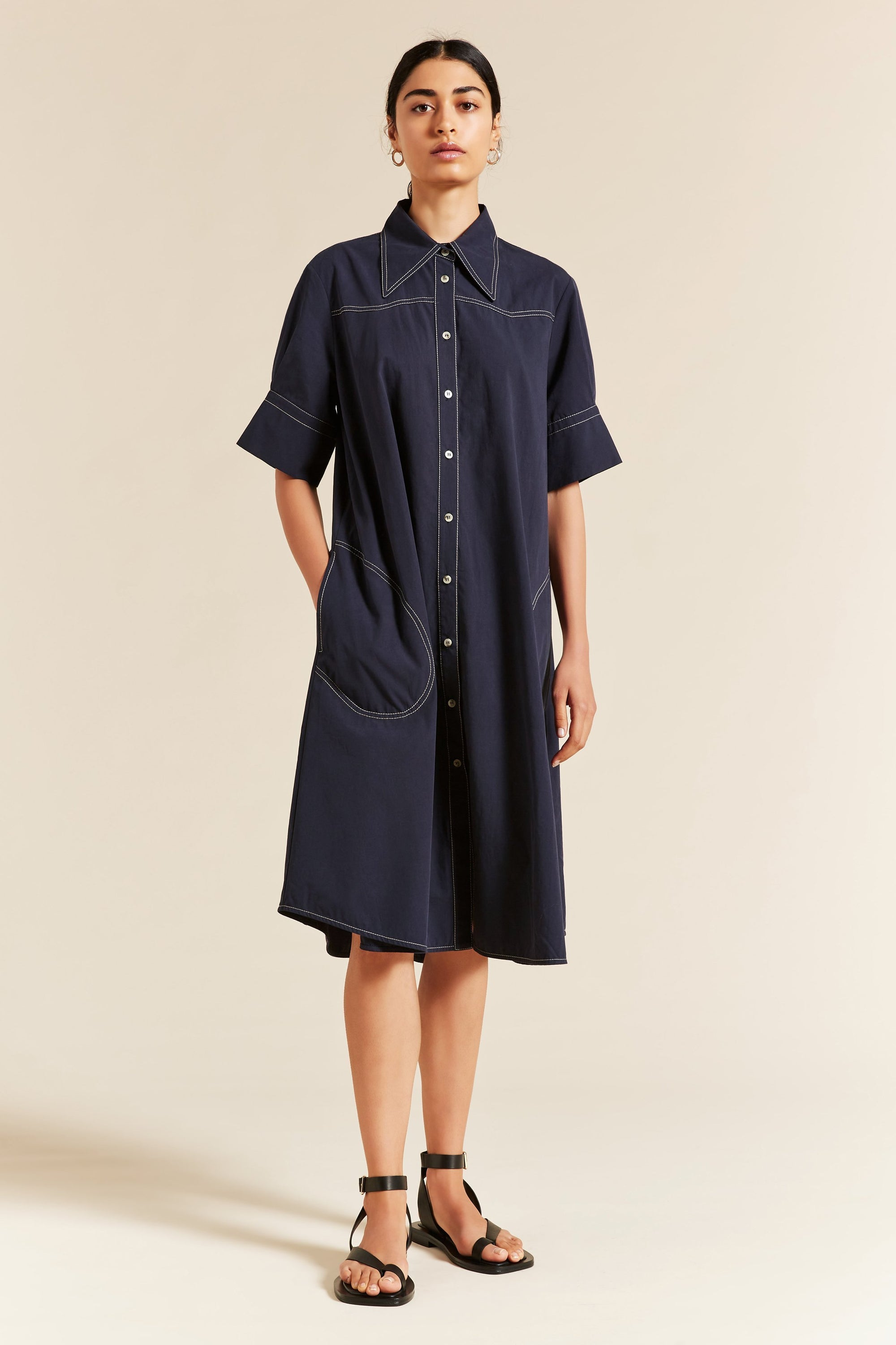 Preston Western Shirtdress