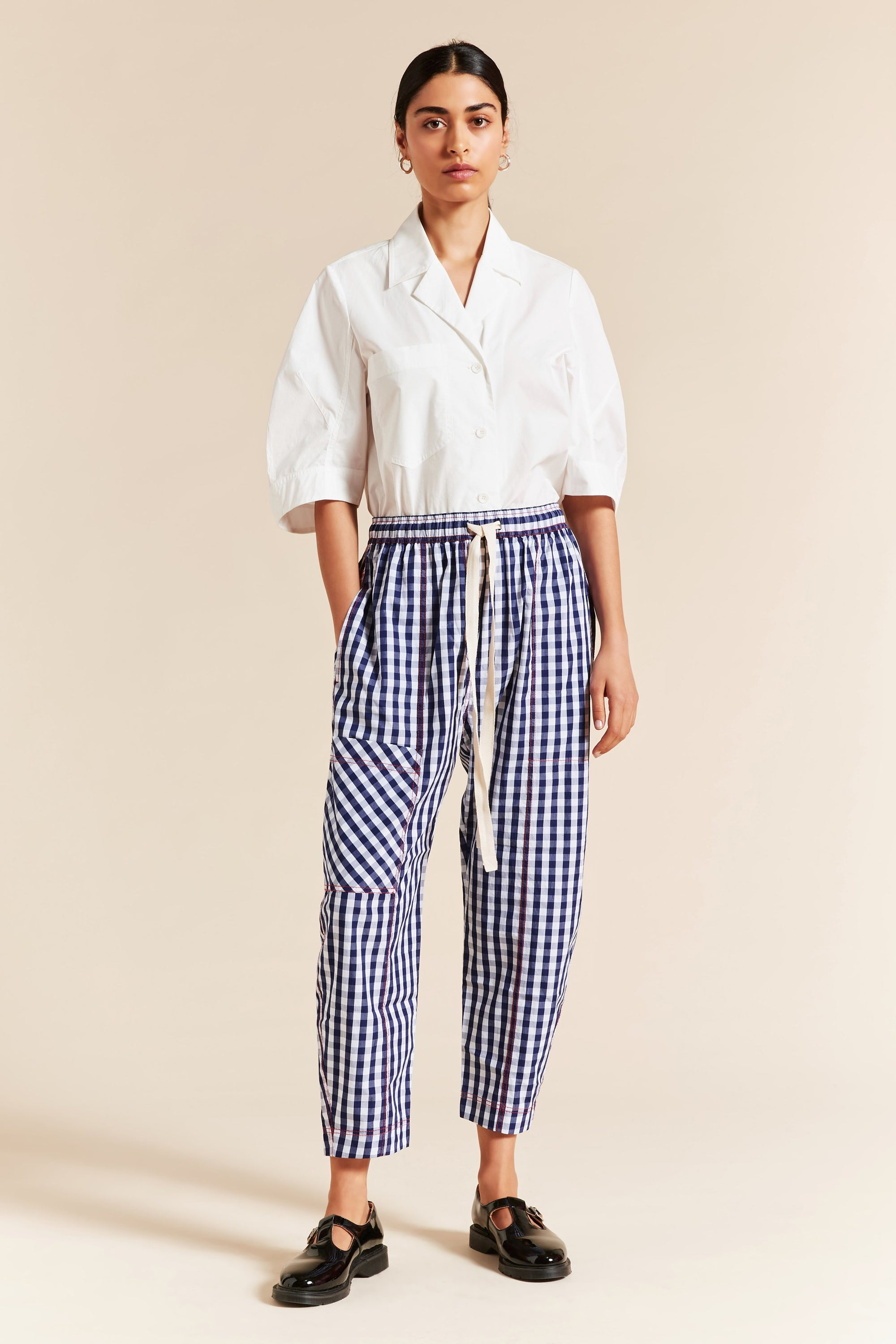 Bessie Check Pant