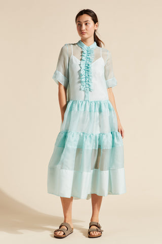 Gemma Ruffle Front Dress