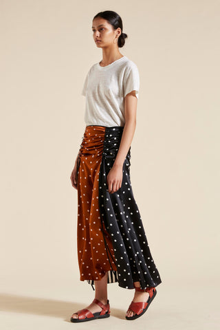 Mae Ruched Skirt