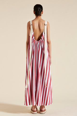 Simone Scoop Back Maxi Dress