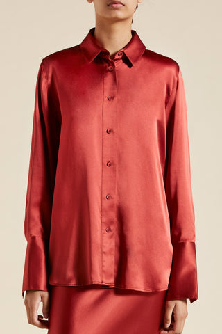 Stella Silk Satin Shirt