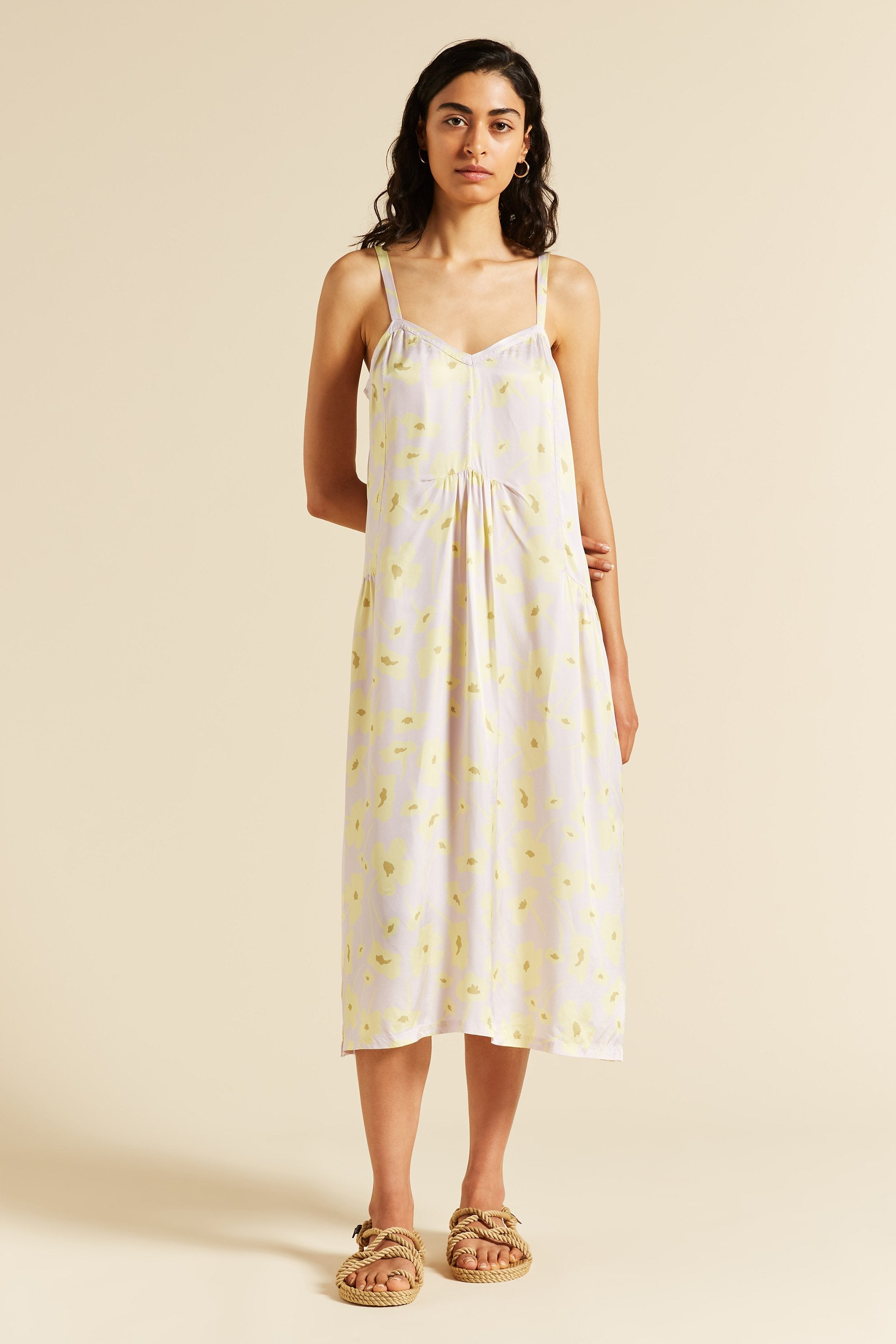 Thistle Printed Slip Dress