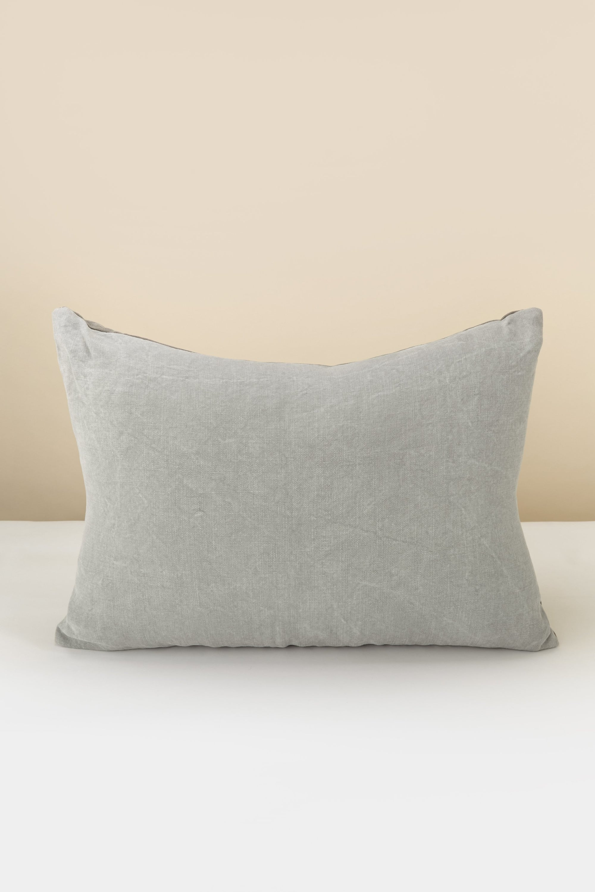 Lee Mathews Linen Rectangle Pillow - Large