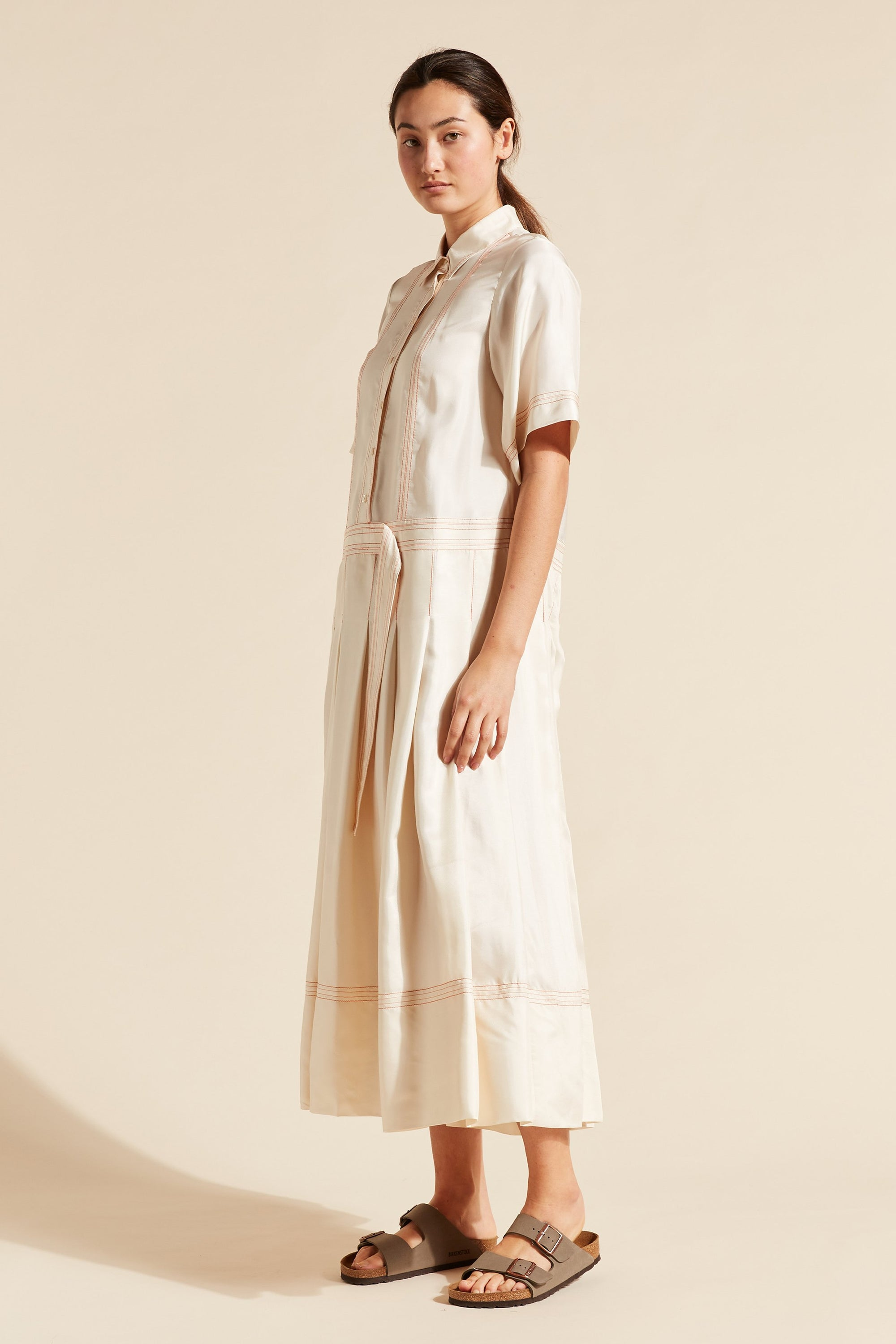 Adelaide Short Sleeve Shirtdress