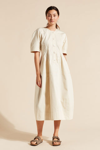 Adele Drill Cocoon Dress