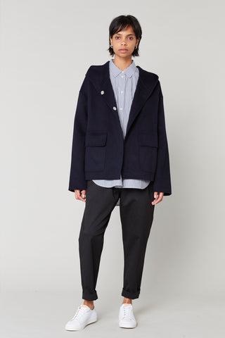 Dallas Cashmere Hooded Jacket