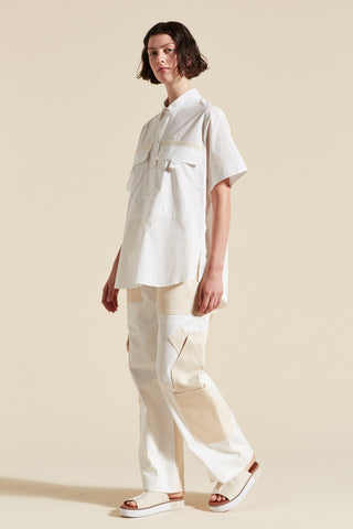 Elsie Short Sleeve Boxy Shirt
