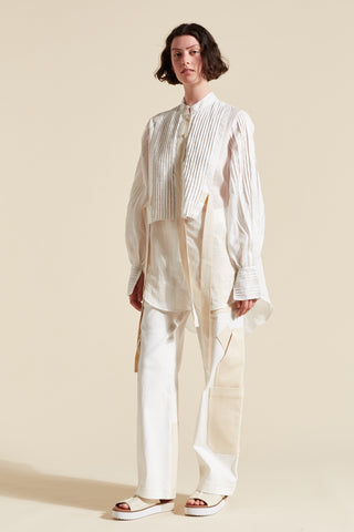 Gigi Pleat Front Shirt