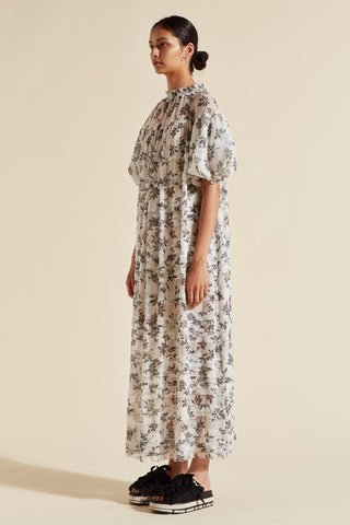Lucy Puff Sleeve Maxi Dress