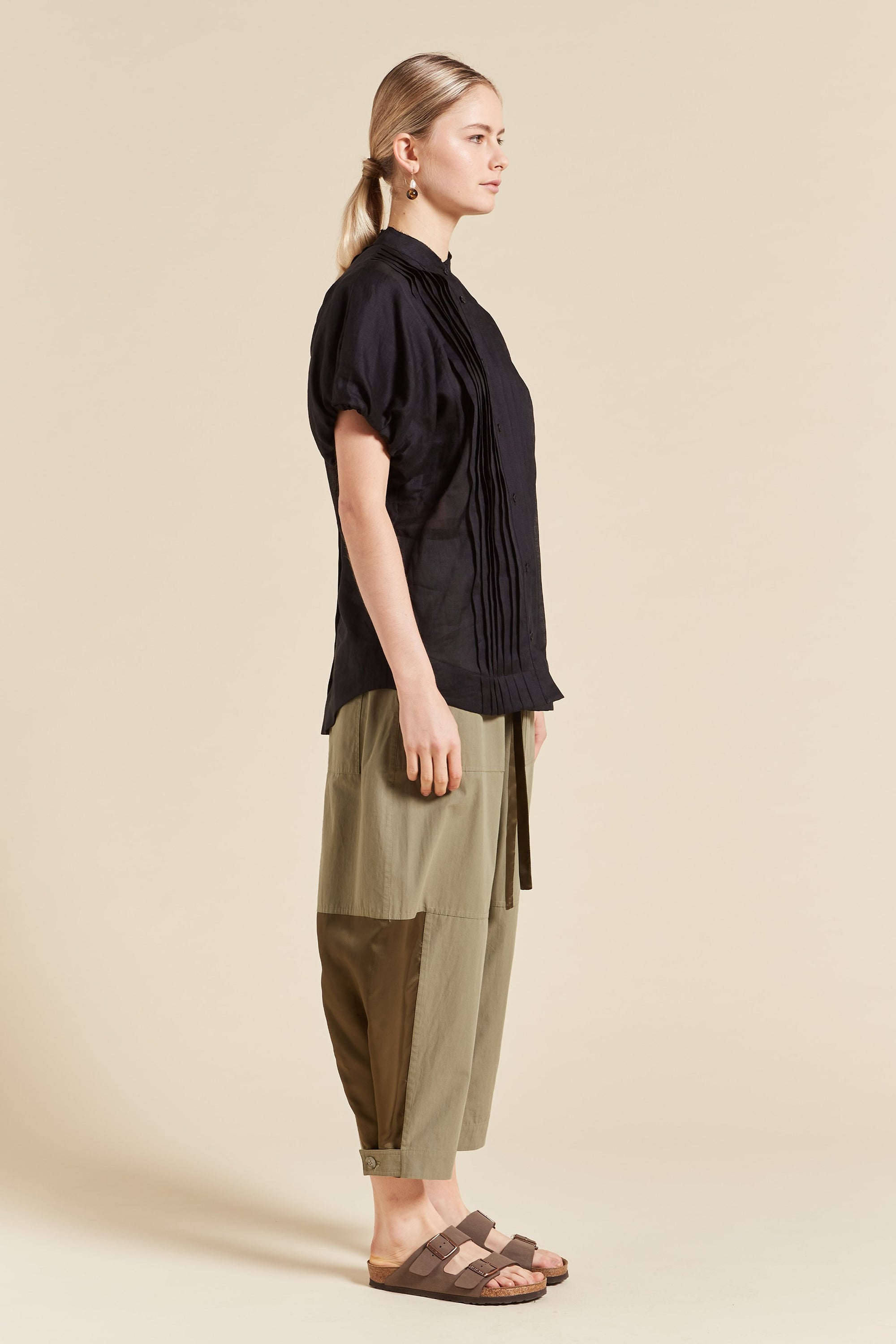 Quinn Tucked Puff Top