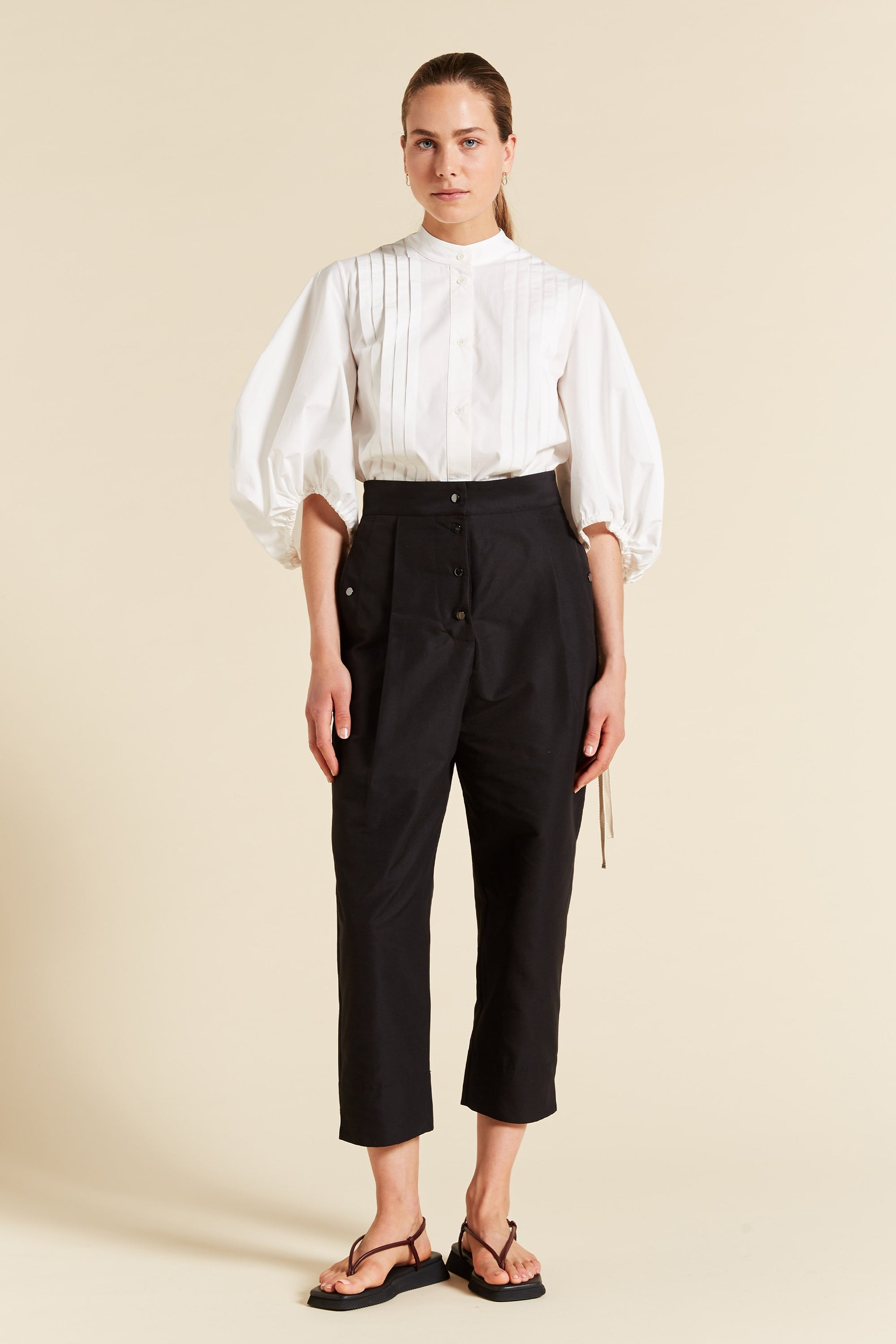Reo High Waisted Cocoon Pant