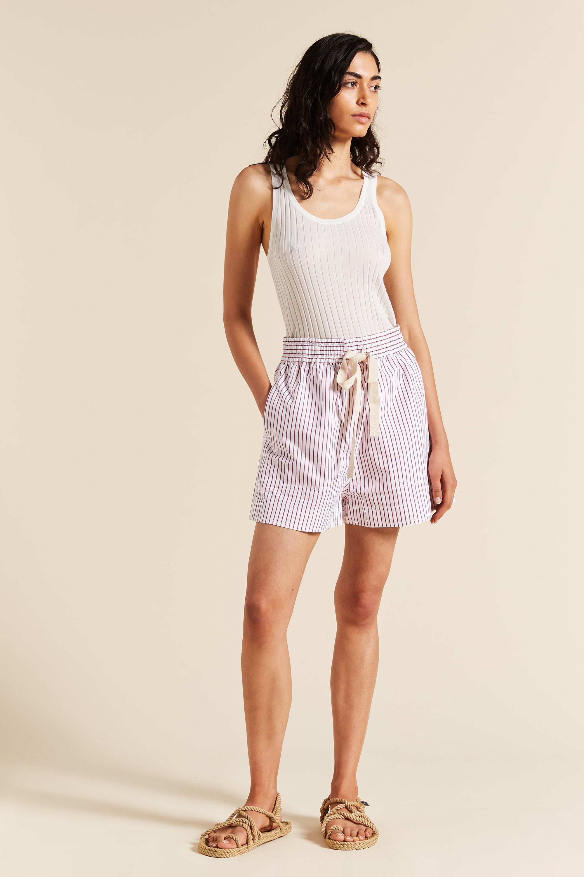 Rosella Stripe Short