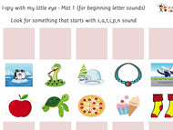 I-spy Letter Sounds Mats