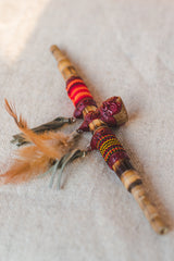 Doble Sacred Shamanic Smoking Pipe - Wild Matter Arts