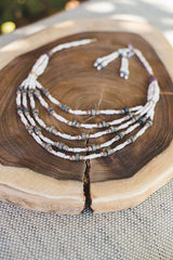 5 Strips - Clay Beads Necklace - Wild Matter Arts