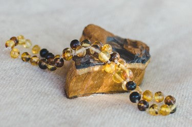Amber Baby Necklace - Wild Matter Arts