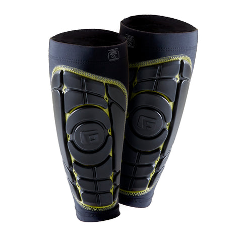 G-FORM PRO-S ELITE SHIN GUARDS - BLACK/YELLOW