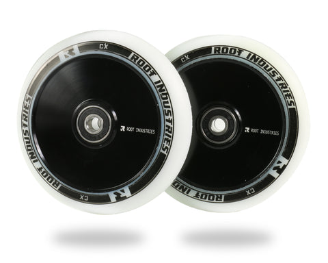 ROOT AIR WHEELS 110MM - WHITE/BLACK