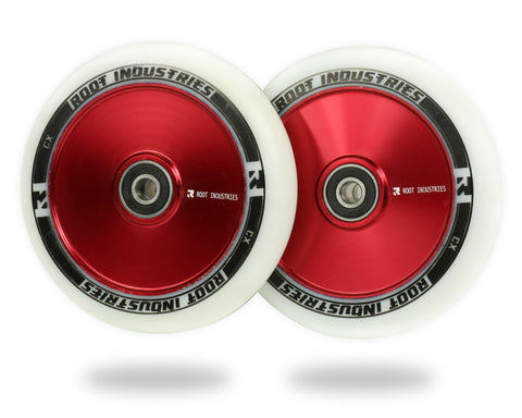 ROOT AIR WHEELS 110MM - WHITE/RED