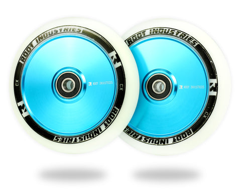 ROOT AIR WHEELS 110MM - WHITE/BLUE
