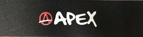 Apex Printed Logo Grip tape for Freestyle Stunt Scooter
