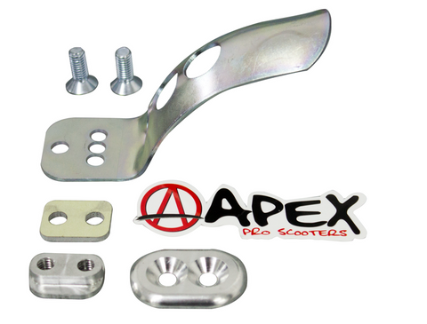 APEX DECK BRAKE ASSEMBLY - ZINC