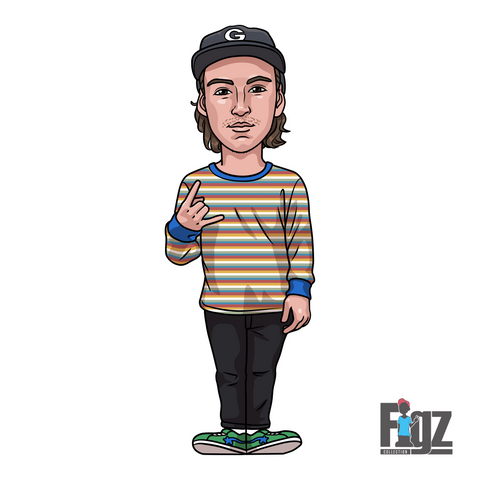 FIGZ STICKERS - DARCY CHERRY EVANS