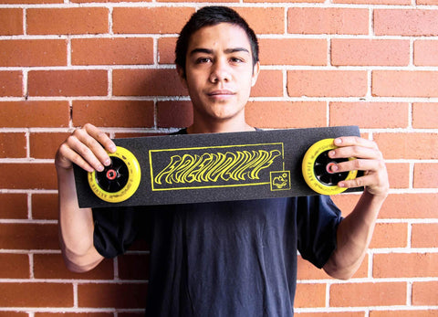 Friendly Grip Tape - Sunshine for Freestyle Stunt Scooters