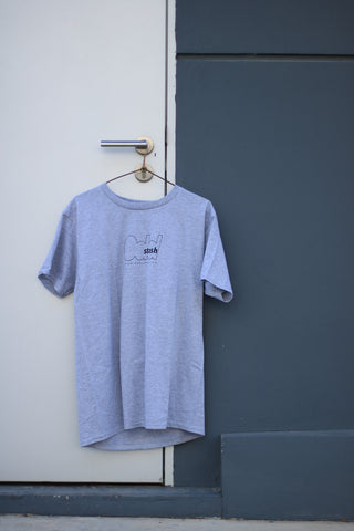 ODDSTASH SHORT SLEEVE T-SHIRT - GREY
